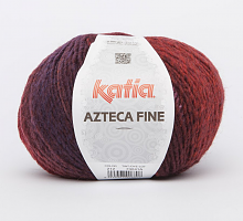 Пряжа Azteca Fine цвет 212 красный