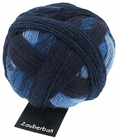 Пряжа Zauberball (Заубербол) 100 гр., цвет 1535