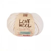 Пряжа Love Wool, цвет 100 белый