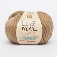 Пряжа Love Wool цвет 120 песочный