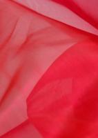 Органза красная