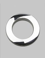 Люверсы шторные трехзамковые  серебро