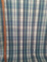 Сорочечная серо-мятная полоска