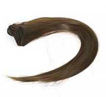 Трессы прямые, длина 30 см, цвет темно-русый