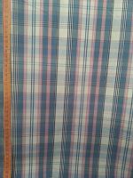 Сорочечная сине-розовая полоска