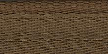 Молния RIRI металл. GO, 4 мм, 16 см, на атласной тесьме, 1замок разъемн., FLASH светло-коричневый