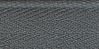Молния RIRI ТОП-СТАР металл неразъемная, 3 мм, 18 см, тип подвески TROPF, цвет цепи Ni, цвет 2119 серо-голубой светлый