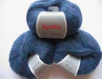 Пряжа AIR ALPACA цвет 207 сине-лиловый