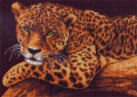 "Рисунок на канве 37х49см арт.353 ""Ягуар"""