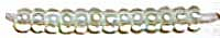 Бисер прозрачный с прокрасом 38152