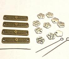 Набор подвесок металлических 14 штук