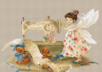 """Набор для вышивания """"Фея-рукодельница"""", """"Luca-S"""""""