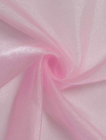 Органза розовая
