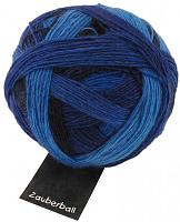 Пряжа Zauberball, 100 гр., цвет 2134 синий