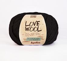 Пряжа Love Wool, цвет 108 черный
