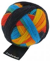 Пряжа Zauberball, 100 гр., цвет 1564радуга