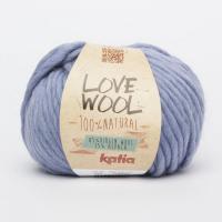 Пряжа Love Wool, цвет 122 голубой