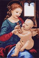 "Рисунок на канве 37х49см арт.484 ""Мадонна Беннуа"""