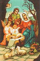 "Рисунок на канве 37х49см арт.380 ""Рождество"""
