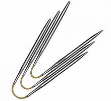Спицы чулочные гибкие addiCraSyTrio, крэзи трио супергладкие, №3, 21 см
