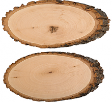 Срез дерева 2 шт. 26 см