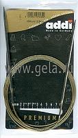 Спицы, круговые, супергладкие, никель, №3,5, 150 см.