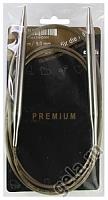 Спицы, круговые, супергладкие, никель, №9, 150 см.