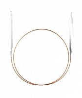 Спицы, круговые, супергладкие, никель, №15, 100 см