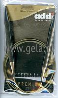 Спицы, круговые, супергладкие, никель, №10,120 см