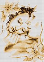 "Набор для вышивания ""Влюблённая пара"", ""Luca-S"""