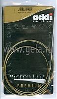 Спицы, круговые, супергладкие, никель, №4, 120 см.
