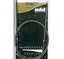 Спицы металлические круговые супергладкие 105-7, длина 100