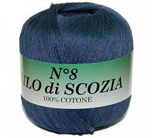 Filo Di Scozia №8 (Фило Ди Скозиа №8 - 67 темно-синий