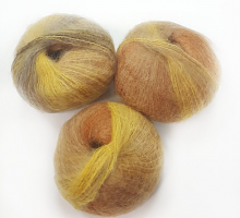 SILKHAIR (Силк Хэйр)  деграде желто-коричневый 25г