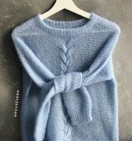 Пряжа Софт Дрим (Soft Dream) 09 голубой