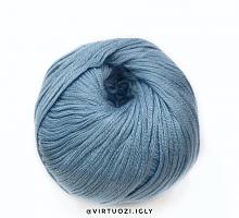 Пряжа Сахар (SUGAR), цвет 7665 голубой