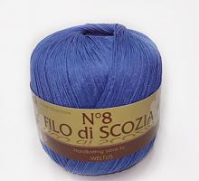 Filo Di Scozia №8 (Фило Ди Скозиа №8 - 62 синий