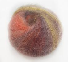 SILKHAIR (Силк Хэйр) 50г деграде фиолет-желто-оранжевый
