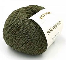 Пряжа Портофино (Portofino) 7018 хаки