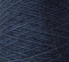 Нина (Nina 47% шелк, 27% мохер, 26% меринос 300/100г) 5521 темный синий