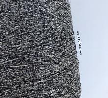 Artelux (Артелюкс) (65 % лён, 26 % полиамид, 9 % полиэстер, 350/100г) 05 чёрный с люрексом