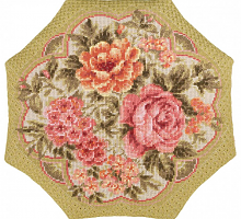 "Набор для вышивания 1558 Подушка ""Вечерний сад"" 40x40 см"