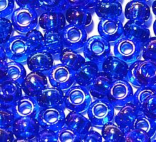 Бисер прозрачный радужный 61300