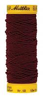 Нить-резинка ELASTIC METTLER, 918 вишневый, 10 м