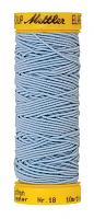 Нить-резинка ELASTIC METTLER, 271 голубой, 10 м