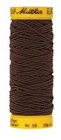 Нить-резинка ELASTIC METTLER, 1048 коричневый, 10 м