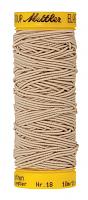 Нить-резинка ELASTIC METTLER, 779 бежевый, 10 м