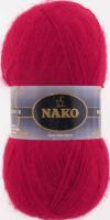 Пряжа Naco Mohair Delicate цвет 6109 красный
