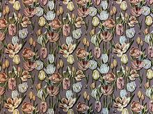 Гобелен Тюльпаны лиловые (цена за 1см)