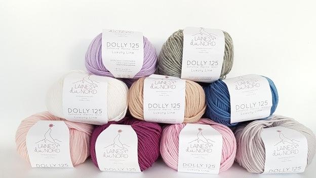 Поступление итальянской пряжи Dolly 125